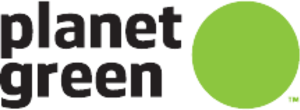Destination America - Logo as Planet Green.