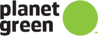 Destination America - Logo as Planet Green.