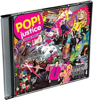 Popjustice: 100% Solid Pop Music album cover