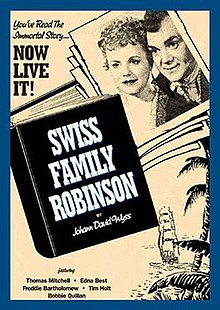 Poster of Swiss Family Robinson (1940 film).jpg