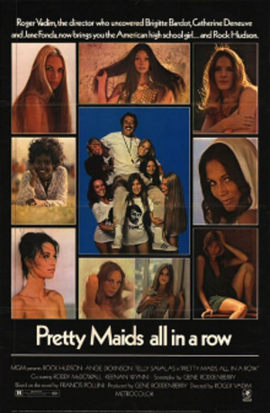 Pretty Maids All in a Row - Pretty Maids All in a Row theatrical poster