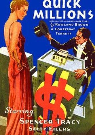 Quick Millions (1931 film) - Image: Quick Millions Film Poster