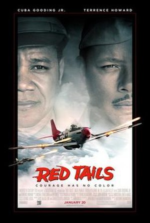 Red Tails - Theatrical release poster