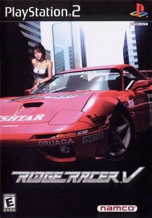 Ridge Racer V - Image: Ridge Racer V Cover