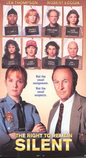 The Right to Remain Silent - VHS Cover