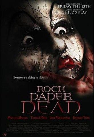 Rock Paper Dead - Film poster