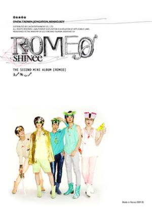 Romeo (EP) - Image: Romeokorea