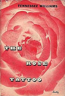 <i>The Rose Tattoo</i> play by Tennessee Williams