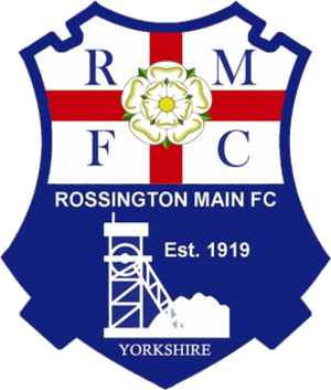 Rossington Main F.C. - Image: Rossington Main F.C. logo
