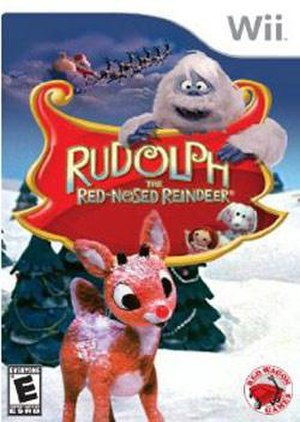 Rudolph the Red-Nosed Reindeer (video game) - Image: Rudolph the Red Nosed Reindeer (video game cover)