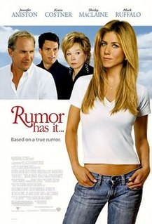 <i>Rumor Has It</i> (film) 2005 romantic comedy movie directed by Rob Reiner