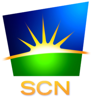 City Saskatchewan - SCN's second logo, used from the late 1990s to 2007.