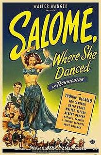 <i>Salome, Where She Danced</i> 1945 film by Charles Lamont, B. Reeves Eason