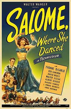 Salome, Where She Danced - Image: Salome Where She Danced (film poster)