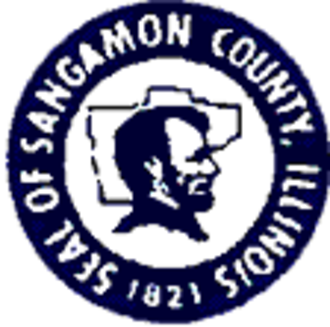 Sangamon County, Illinois - Image: Sangamon County il seal