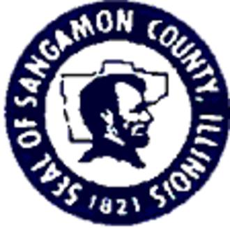 Sangamon County, Illinois - Image: Sangamon County il seal