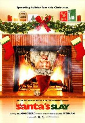 Santa's Slay - Image: Santaposterbigla 3