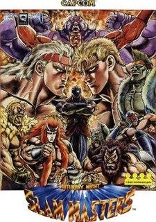 <i>Saturday Night Slam Masters</i> 1993 arcade game