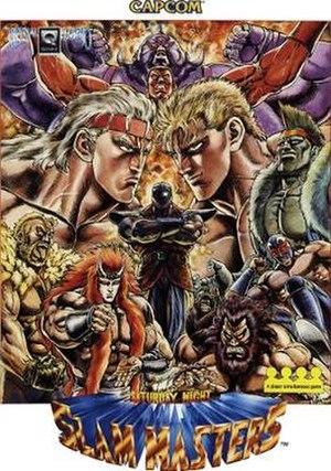 Saturday Night Slam Masters - Image: Saturday Night Slam Masters arcade flyer Capcom