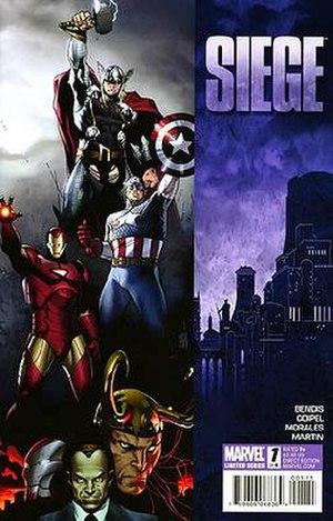 Siege (comics) - Image: Siege 1