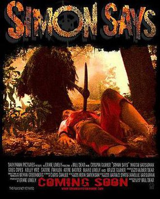 Simon Says (film) - Image: Simon Says Movie Poster