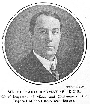 Richard Redmayne - Redmayne in 1918/19