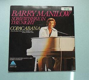 Somewhere in the Night (song) - Image: Somewhere in the Night Barry Manilow