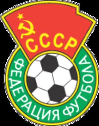 Soviet Union national football team - Image: Soviet Union football federation