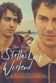 <i>Stellas Last Weekend</i> 2018 film directed by Polly Draper