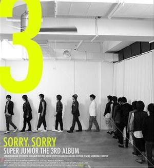 Sorry, Sorry - Image: Super Junior Sorry Sorry