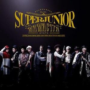 Mamacita (Super Junior song) - Image: Super Junior 6th Japanese Single Mamacita (CD+DVD Ver.)