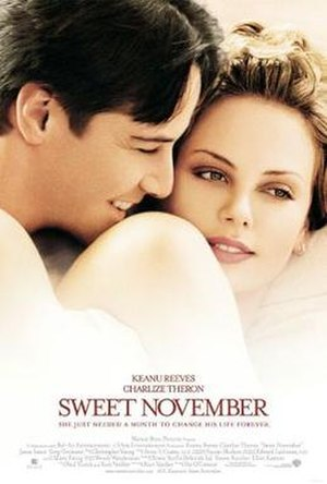 Sweet November (2001 film) - Theatrical release poster