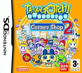Tamagotchi Connection: Corner Shop 2 - European cover art of Tamagotchi Connection: Corner Shop 2
