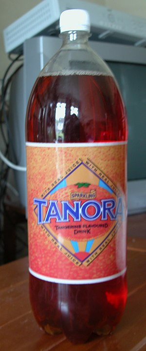 Tanora - Two-litre bottle (pre-2011 packaging)