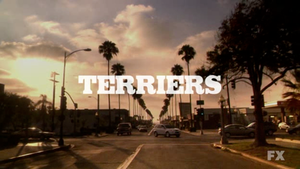 Intertitle from the FX television program Terriers