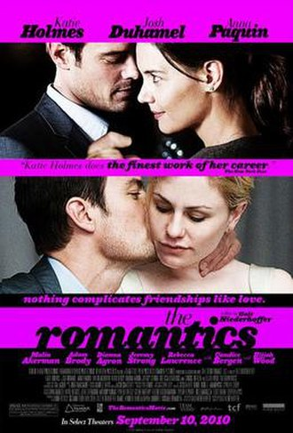 The Romantics (film) - Image: The romantics movie poster