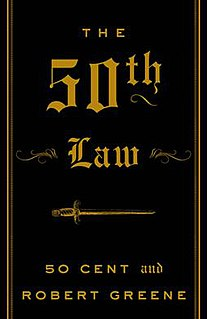 <i>The 50th Law</i> book by Robert Greene