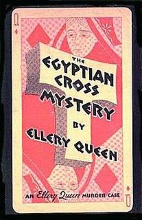 <i>The Egyptian Cross Mystery</i> novel by Ellery Queen