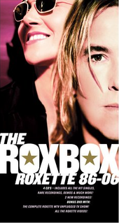 <i>The Rox Box/Roxette 86–06</i> 2006 box set by Roxette