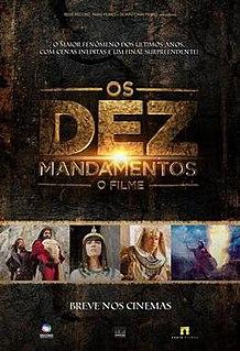 <i>The Ten Commandments: The Movie</i> 2016 Brazilian film directed by Alexandre Avancini