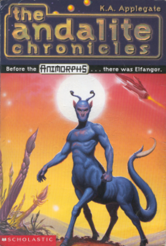 The Andalite Chronicles - The Andalite Chronicles, depicting Elfangor, an Andalite war-prince