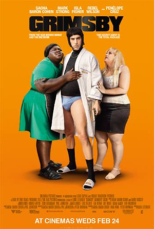 Grimsby (film) - British release poster