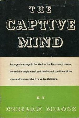 The Captive Mind - First US edition