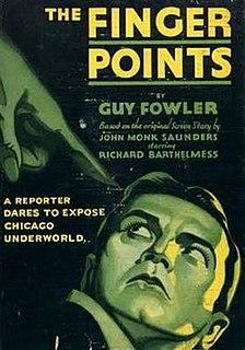 <i>The Finger Points</i> 1931 film by John Francis Dillon