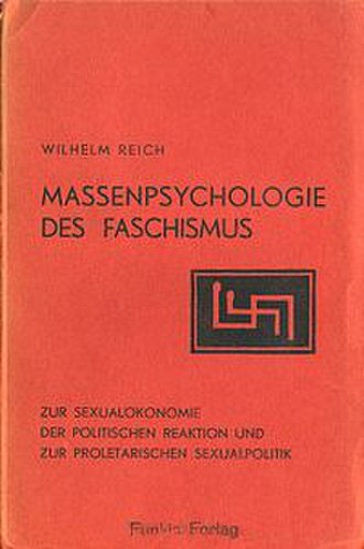 The Mass Psychology of Fascism - Cover of the German edition