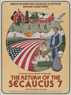<i>Return of the Secaucus 7</i> 1980 film directed by John Sayles
