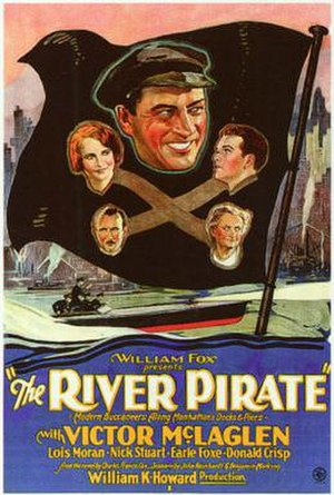 The River Pirate - Theatrical release poster