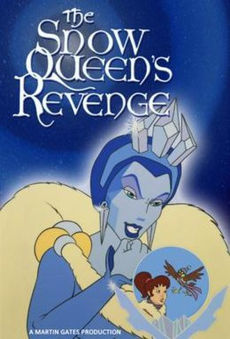 The Snow Queen's Revenge - Czech home release cover art