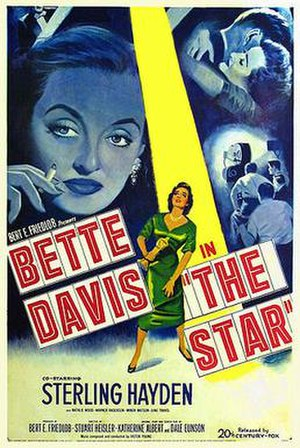 The Star (1952 film) - Theatrical release poster