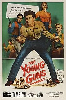 <i>The Young Guns</i> (film) 1956 film by Albert Band